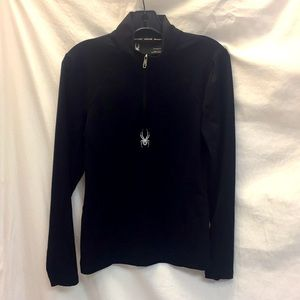 Spider 1/4 Zip Sz Sm Pullover
